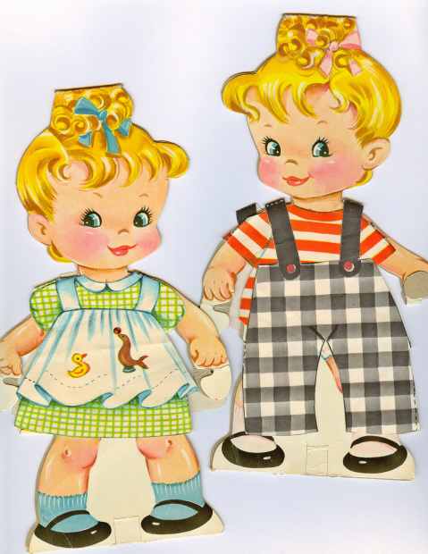 Cindy and Mindy dolls