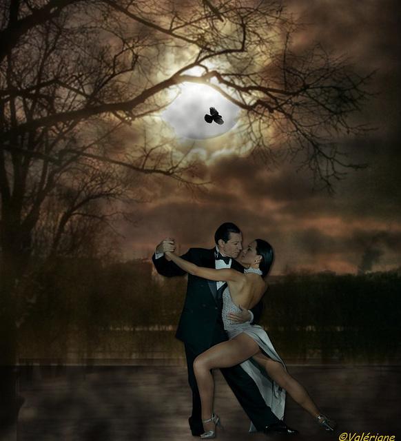 Tango sous la lune