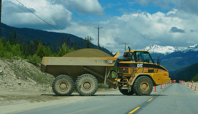 Highway 5 near Valemount, BC