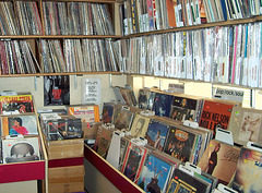 inside Randy's Records
