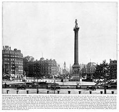 Trafalgar Square London around 1900