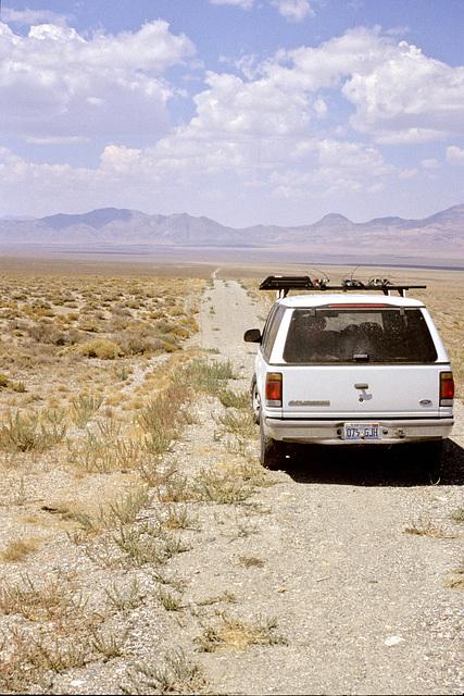Car and Trinity Mine road.