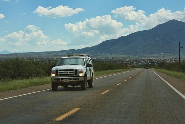 US Border Patrol - Naco Highway