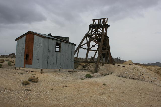 Kaiser Fluorspar Mine, Mineral County, Nevada, USA