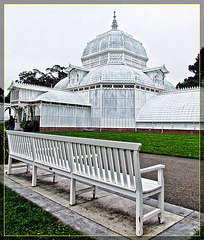 Conservatory of Flowers: Have a Seat!