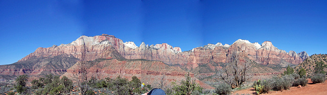Panorama from end of Watchman Trail