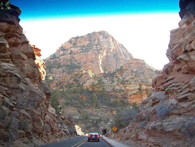 Yay, we're in Zion!