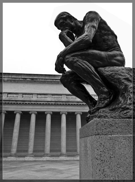 "Legion of Honor: Rodin's ""The Thinker"""