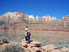 at the end of the Watchman Trail, Zion National Park