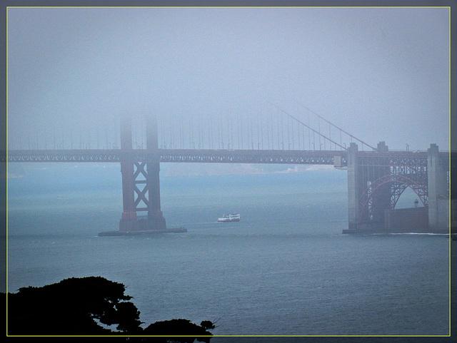 Golden Gate Bridge From Afar