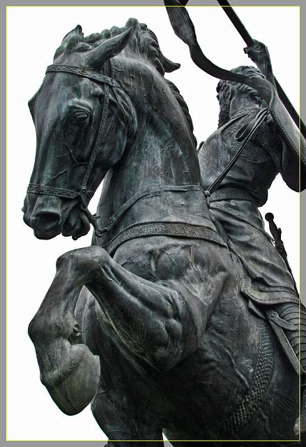 """""""El Cid's"""" Bronze Horse"""