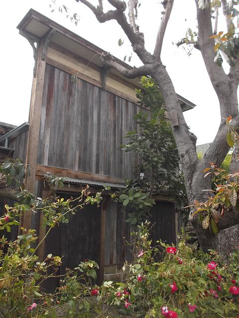 Old wooden house / Toute en bois.