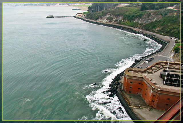 GGB: Fort Point and Coastal View