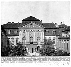 Palace of the German Chancellor in Berlin around 1900