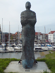 Sculpture of lady