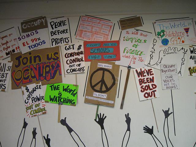Occupy Ventura Art Installation