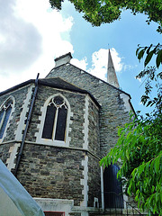 agapemonite church, clapton common, hackney, london
