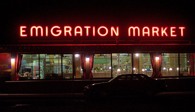 Emigration Market, west side view