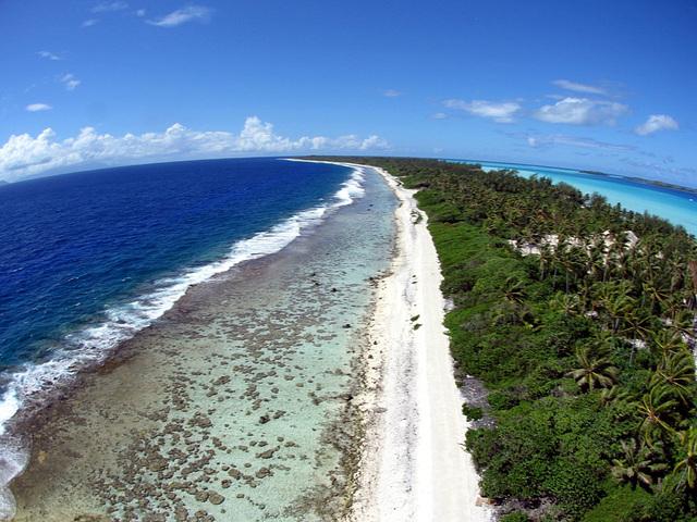The reef in Bora Bora