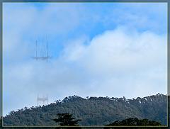 Sutro Tower Through the Fog