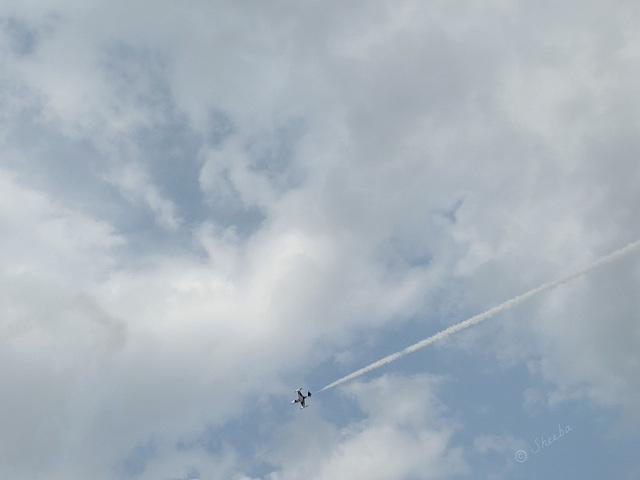 Jet solo of a Black Diamond  -