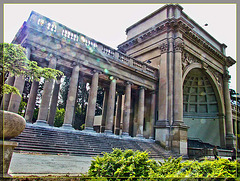 Spreckles Temple of Music with Lens Flare