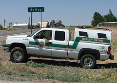 U.S. Border Patrol by ThreadedThoughts