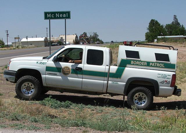 U.S. Border Patrol by ThreadedThoughts