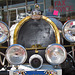 Antique Bugatti Headlights