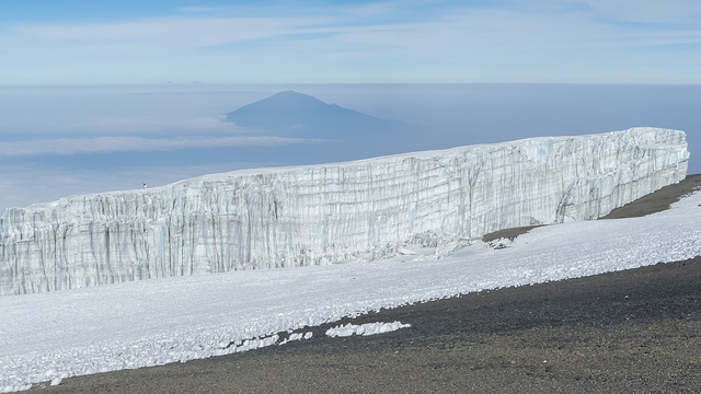 Glacier and Meru