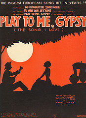 Play to me, gypsy