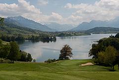 Le lac de Gruyères...