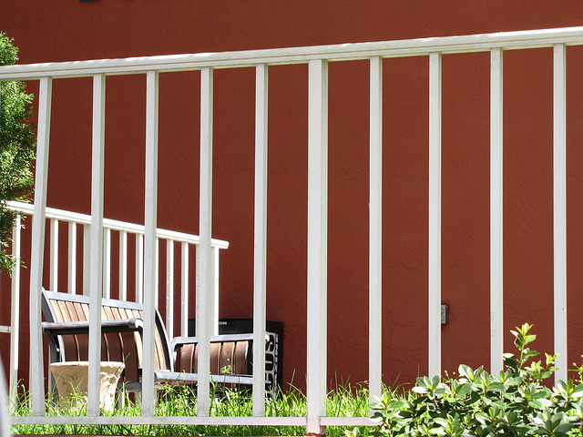 - a private bench ?