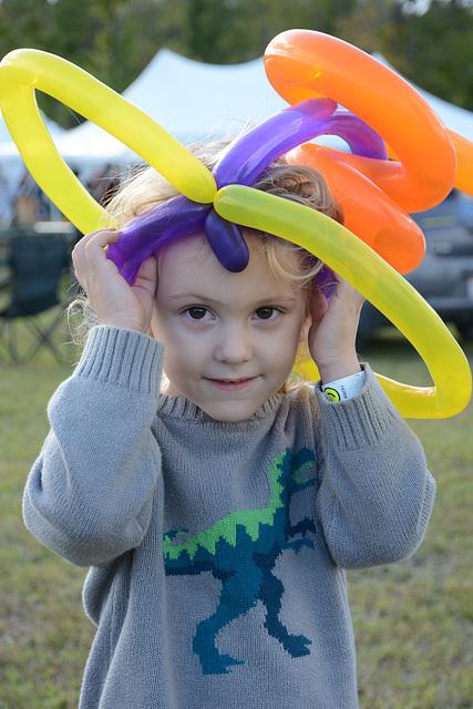 A fine balloon hat