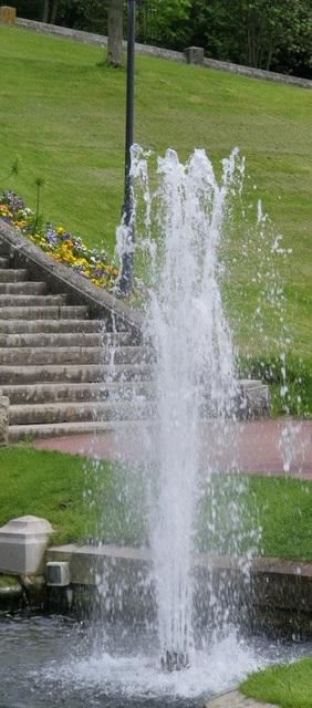 Jet d'eau et de vie