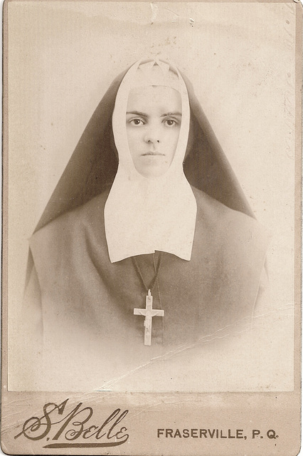 Young Nun. Page 1