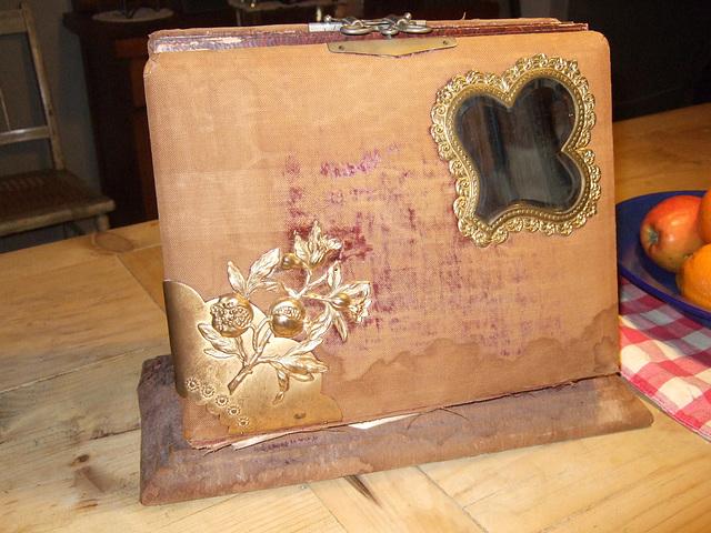 Bevelled Mirror Victorian Album #1