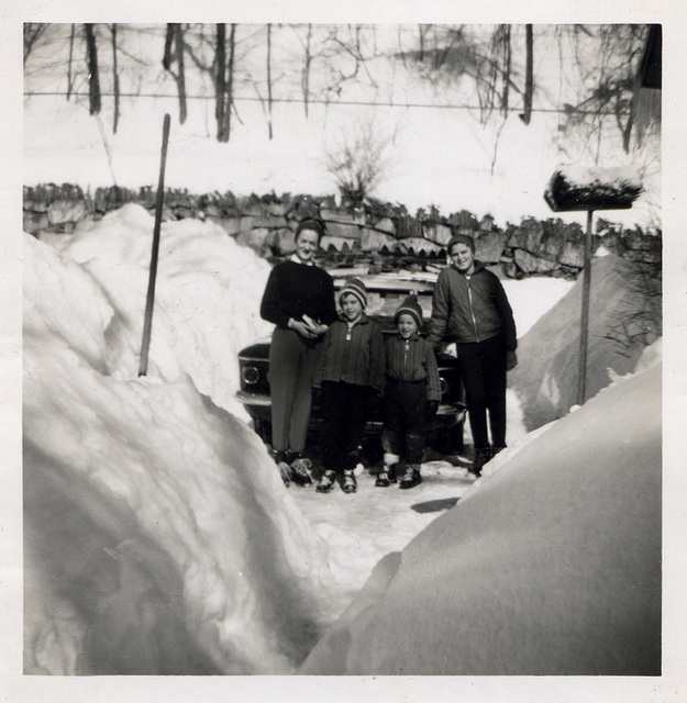Snow in the Old Days