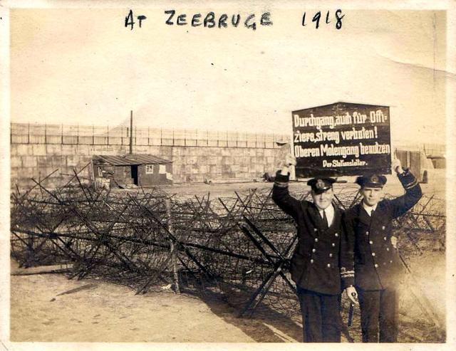 Zeebrugge, 1918