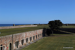 Fort George - View over the Casements to the Moray Firth