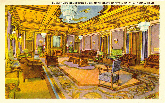 Governor's room, Utah State Capitol