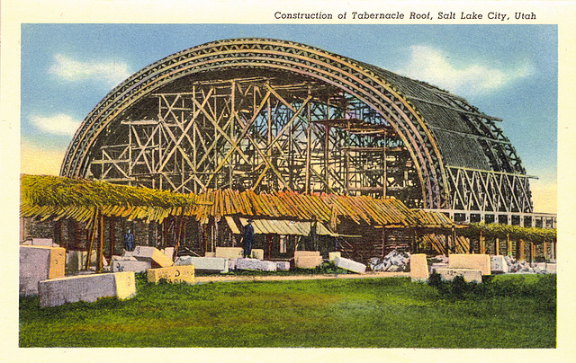 Tabernacle under construction