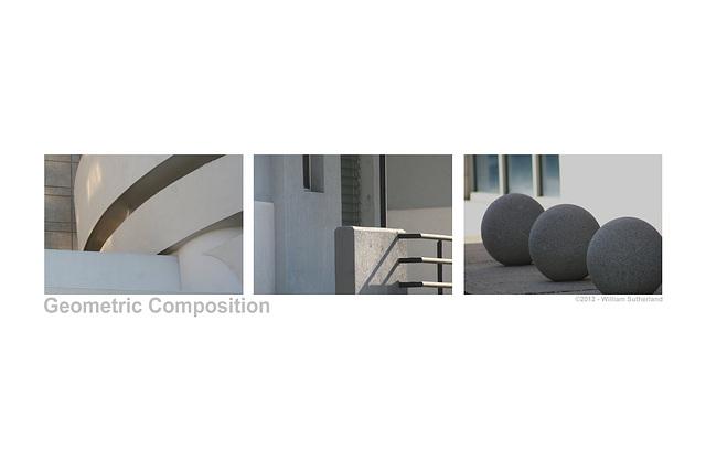 Geometric Composition 12x8
