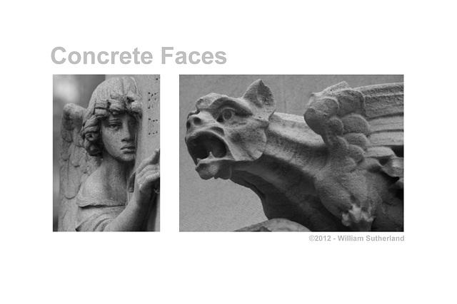 Concrete Faces 12x8