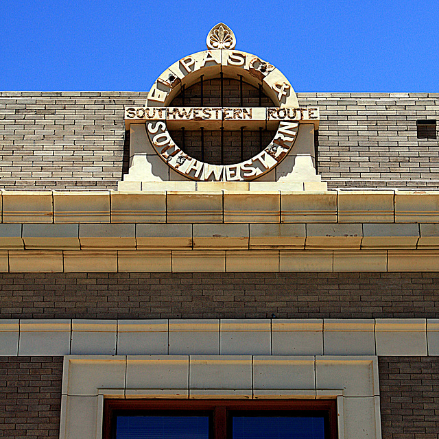 El Paso and Southwestern Railroad Depot