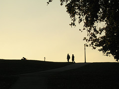 Primrose Hill Sunset 1