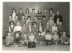 Layton School 6th graders, 1961-1962