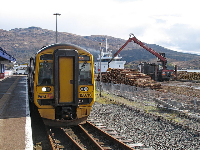158713 and timber at Kyle