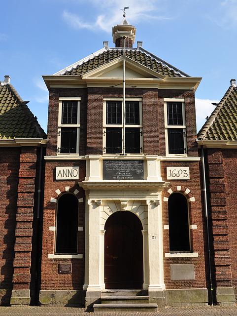 Entry of Jean Pesyn's Almshouse