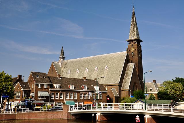 Herensingel Kerk in Leiden